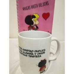 mugs y cuadernos